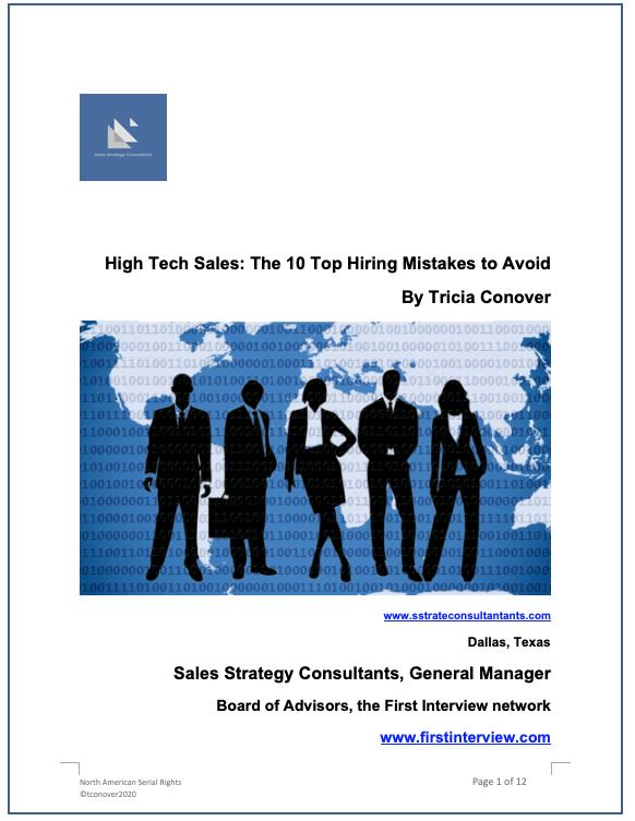 Cover of Top 10 Hiring Mistakes april2020